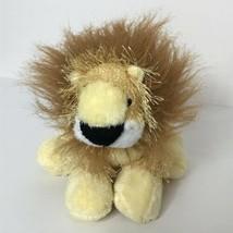 "Ganz Webkinz Lion Plush Stuffed Animal Beanie 8"" Long No Code - $14.85"