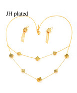 African Ethiopia gold color jewelry sets Dubai for women best gifts Part... - $26.76