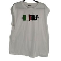 Walt Disney Men's Size XL Italy Epcot Tank Top - $19.00