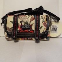 The Sak Sak Roots Convertible Wallet Purse Brand New White Peace Style 1... - $44.55