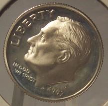 2007-S GEM Proof Silver Roosevelt Dime PF65 #003 - $3.99