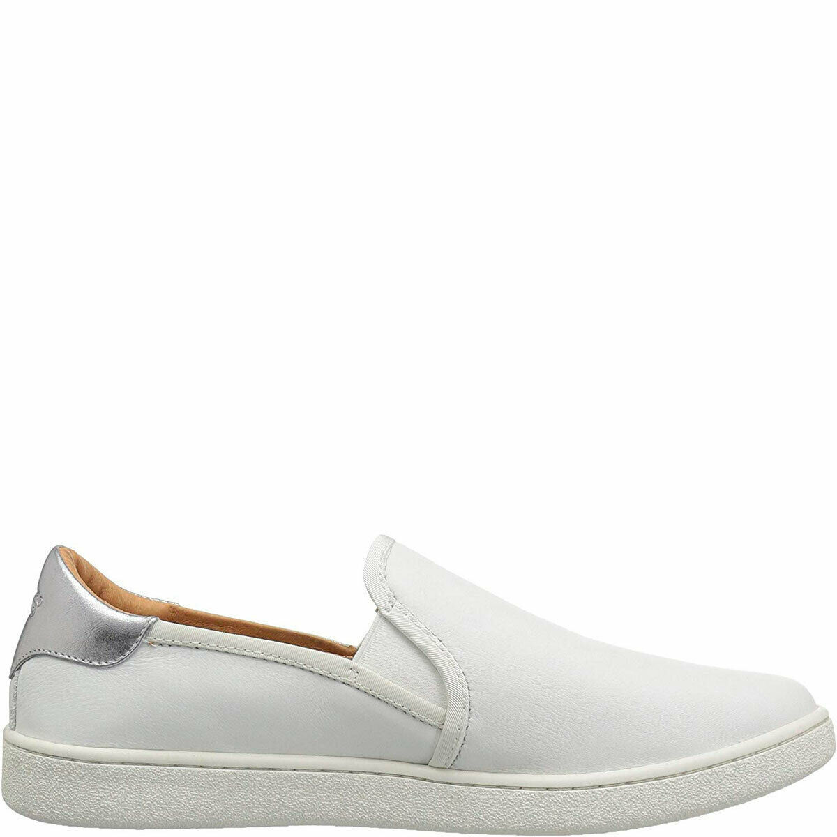UGG Women's Cas Slip-on Fashion Sneakers White 5.5 M MSRP 100 New image 6