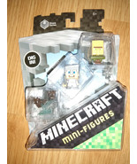 Minecraft Minifigures Stone Series 2 with Iron Armor Steve, Bats, and Vi... - $17.82