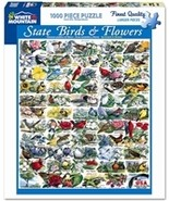 White Mountain Puzzles - State Birds & Flowers - $17.08