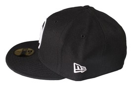 Dissizit Channel 0 Black 59Fifty New Era Fitted Hat image 2