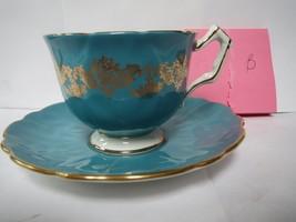 AYNSLEY TEA CUP AND SAUCER              B - $40.00