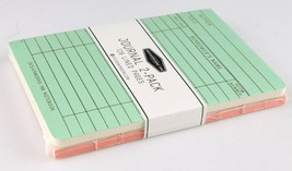 "Designworks Ink 2 Cloth Bound Personal 4"" x 6"" Mint/Blush Lined Journal Notebook image 1"