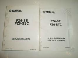 2004 2005 Yamaha FZ6 Ss St FZ6 Ssc STC Service Manuell 2 Vol Set Fabrik ... - $41.42