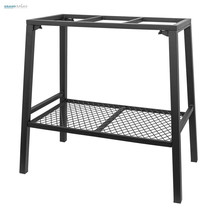 Fish Tank Stand For 10 To 20 Gallon Aquarium Metal Steel Rack Holder She... - €40,39 EUR