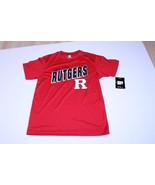 Youth Rutgers Scarlet Knights L (16/18) NWT Athletic Performance Shirt (... - $18.69