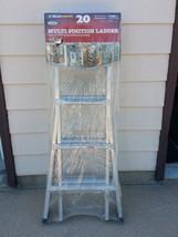 17' Gorilla Ladder Aluminum Type I 250LBS Duty Rating Multi Position Lif... - $119.99