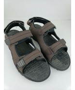 Official Lifeguard Men's Rugged Sandals Black Brown Size Large 8-9 Beach... - $14.95