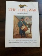 American Heritage Battle-Cry Civil War Board Game Milton Bradley vintage... - $11.88