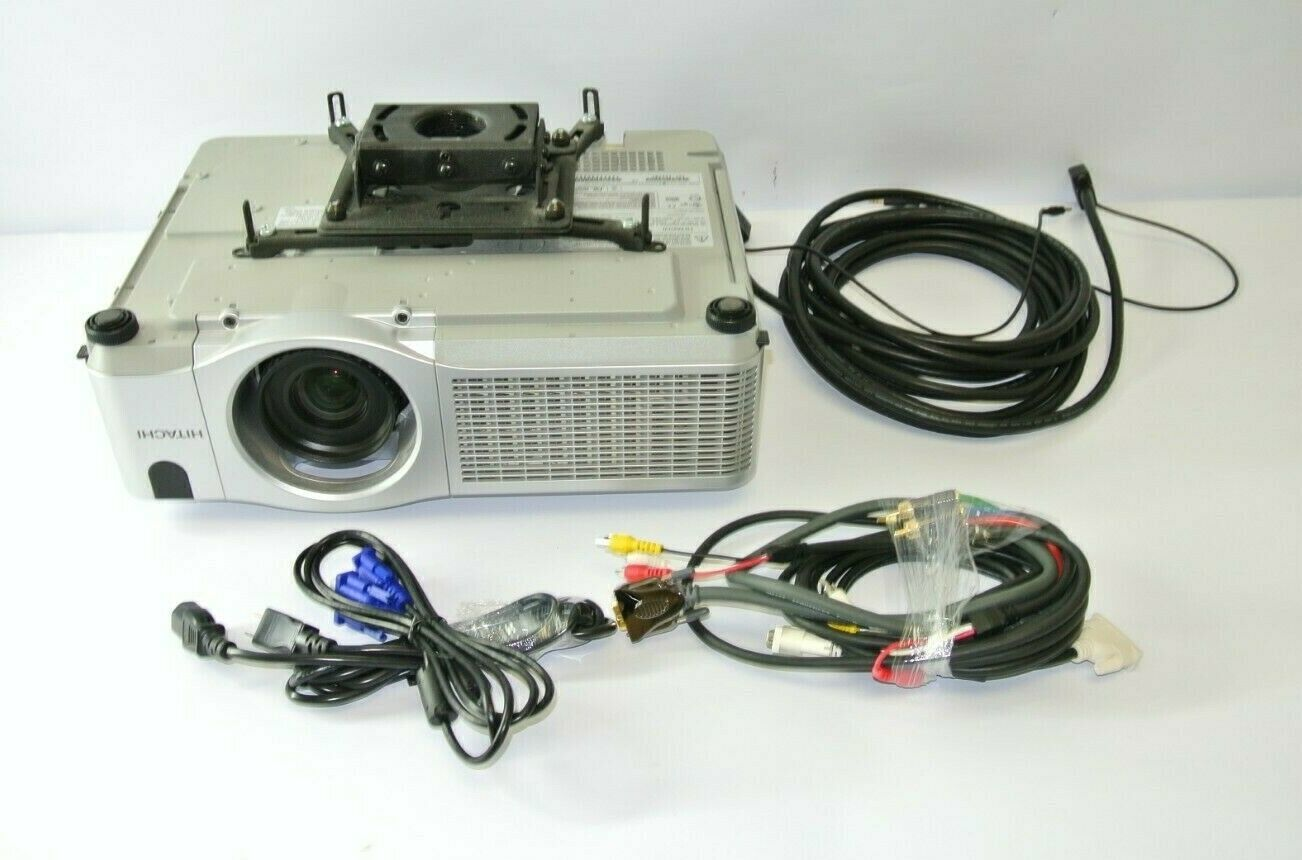 Primary image for Hitachi CP-X505 3LCD Ceiling Projector w/  Chief mount, cables, 181 lamp hours