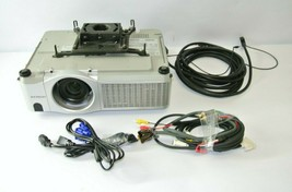 Hitachi CP-X505 3LCD Ceiling Projector w/  Chief mount, cables, 181 lamp... - $197.99