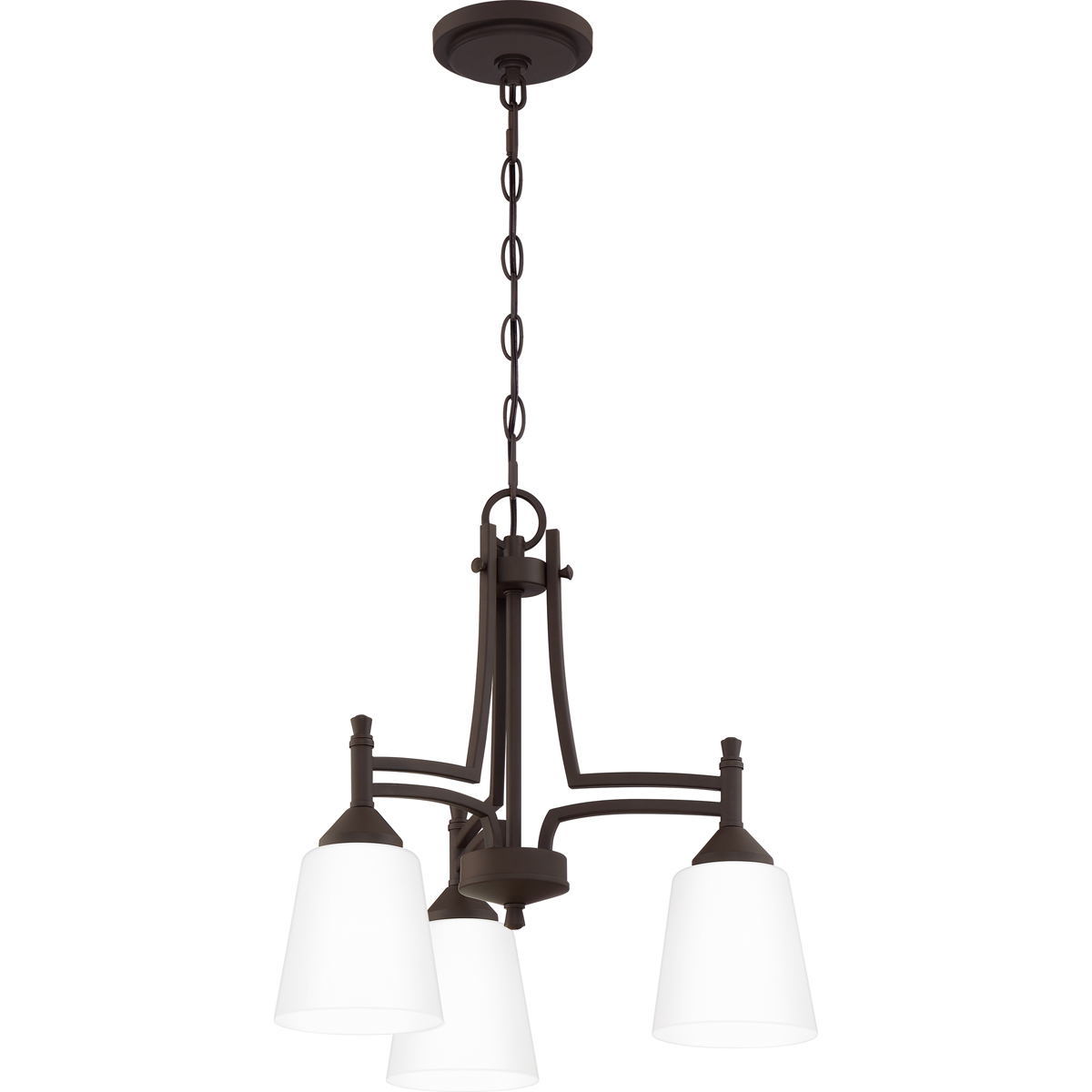 Primary image for Billingsley 3-Light Chandelier in Old Bronze