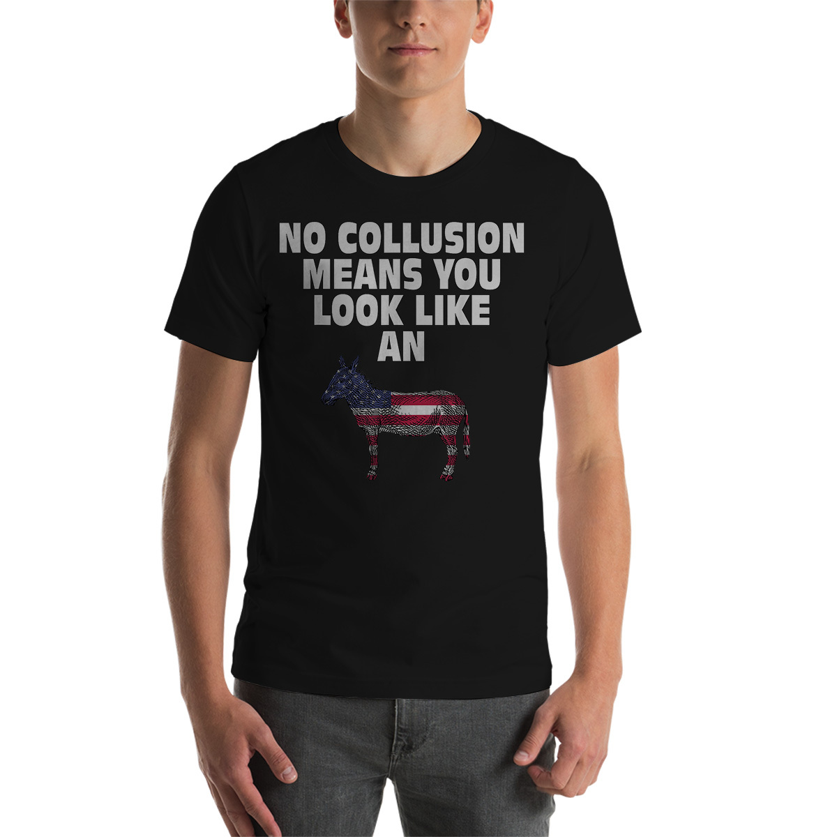 No Collusion Means Funny Pro Trump T-Shirt