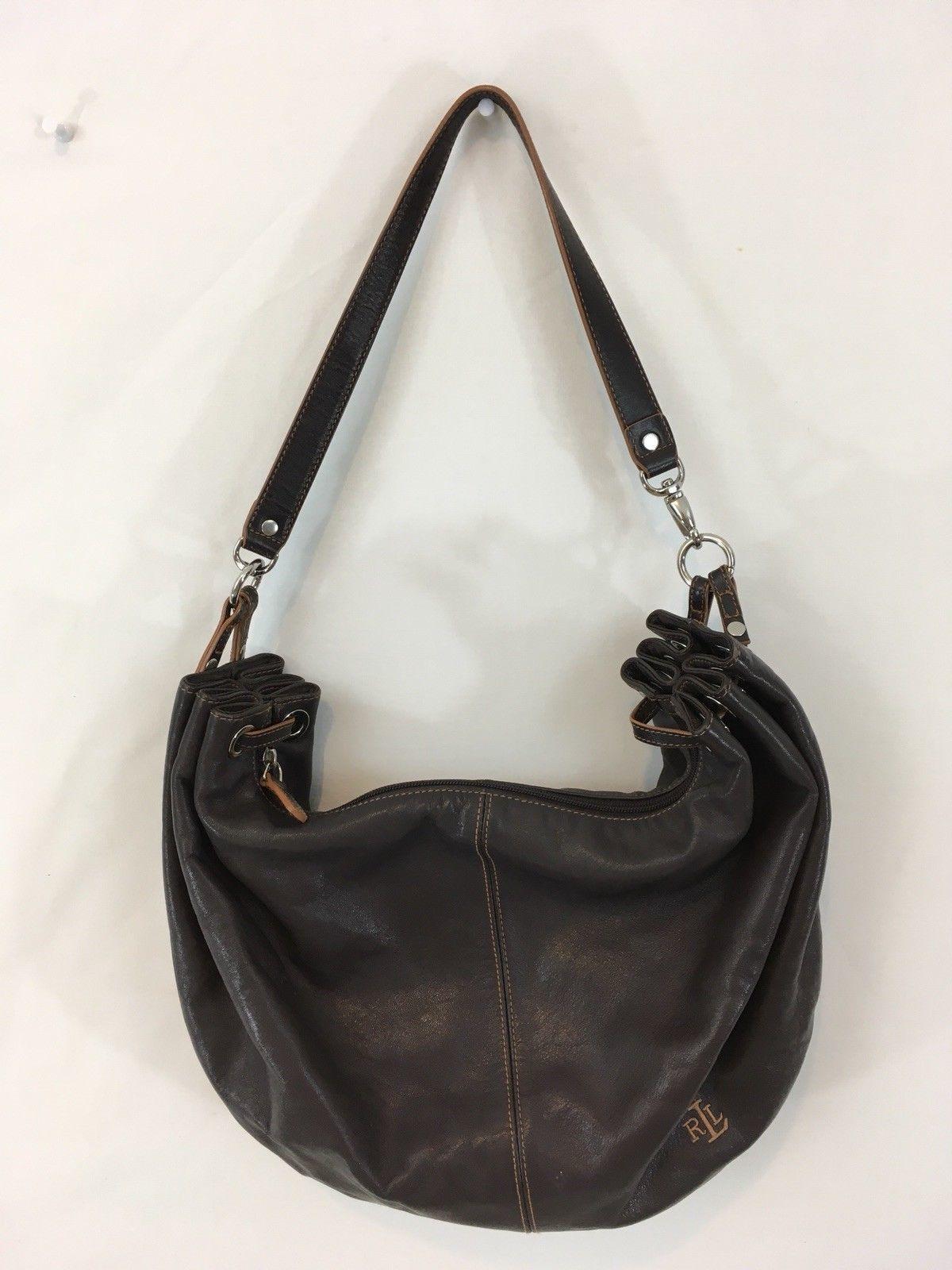 584bc83401 RLL Lauren Ralph Lauren Medium Brown Leather and 45 similar items