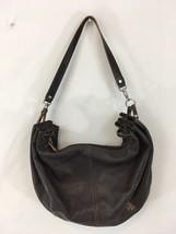 RLL Lauren Ralph Lauren Medium Brown Leather Purse Satchel Handbag - $36.68