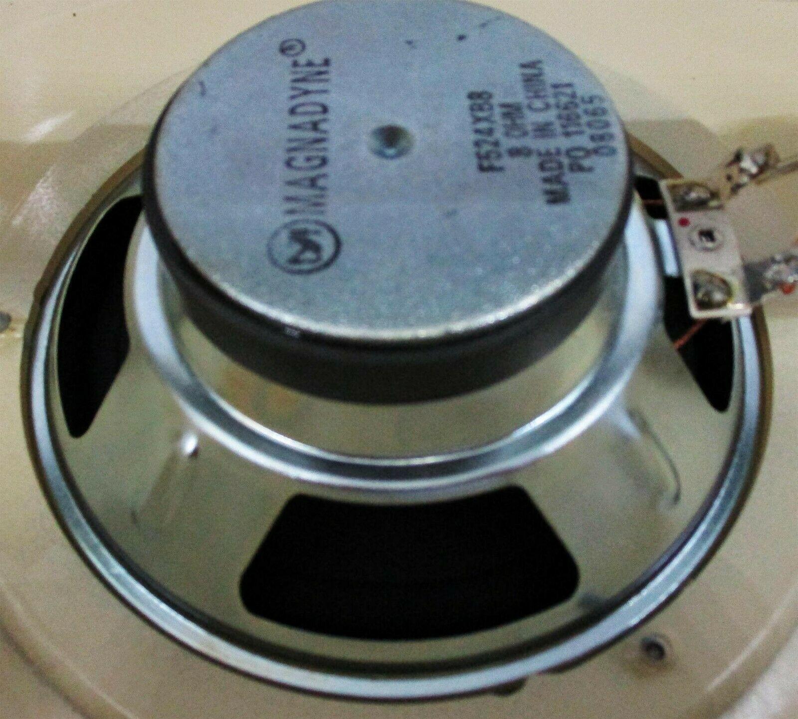 Seeburg Teardrop Jukebox Speaker Beige