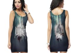 illuminati 3 Bodycon Dress - $25.99+