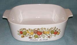 Vintage Corning Ware SPICE OF LIFE 4 QT Dutch Oven/CASSEROLE A-84-B No L... - $13.95
