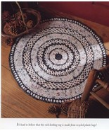 Recycled Plastic Bag Rug Vanna Crochet PATTERN/INSTRUCTIONS NEW - $4.47