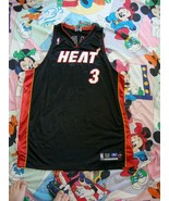 Miami Heat Dwyane Wade NBA Authentic Jersey Size 52 - $39.59