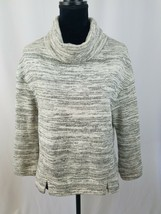 Saturday Sunday Anthropologie women XS oversize space dye sweatshirt cow... - $37.62