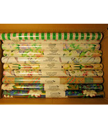"""1993 Current Gift Wrap & Tissue Paper assorted patterns, 10 rolls 23"""" X ... - $7.96"""