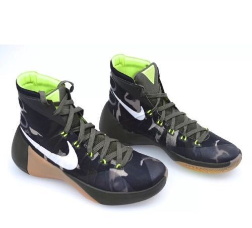 online store 164f5 81851 S l1600. S l1600. Previous. Nike Hyperdunk PRM 749567-313 Camo Green  Trainers Basketball Shoes Sneakers 10