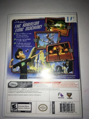 Disney's Meet the Robinsons Nintendo Wii 2007 image 2