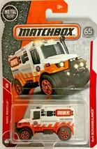Matchbox 2018 MBX Rescue #20/30 4x4 Scrambulance #FHH83 1:64 Scale Diecast - $2.96