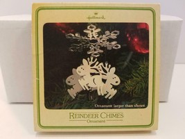 Vintage Hallmark Christmas Ornament BOX ONLY Reindeer Chimes Box Replace... - $5.45