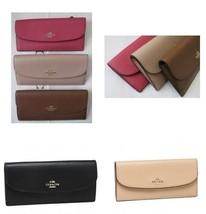 COACH F54008 Crossgrain leather soft WALLET - $57.01+