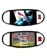 St. Louis Cardinals Face Mask with black string reusable washable #3 - $14.54+