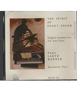 The Spirit of Puget Sound Originial Compositions for Solo Piano on a Bos... - $39.48