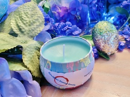 Eucalyptus Scented Candle  - $12.00