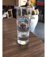 Double Shot Glass The Alamo San Antonio Liquor Party Barware Kitchen Hou... - $5.52