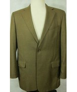 Splendido H.Stockton 100% Cashmere Color Tabacco Marrone Sport Giacca 42L - $89.98