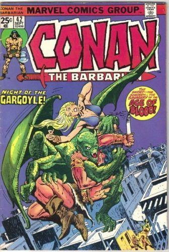 Conan the Barbarian Comic Book #42 Marvel Comics 1974 FINE-
