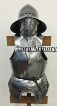 NauticalMart Medieval Armour Renaissance Breastplate With Helmet  - $299.00
