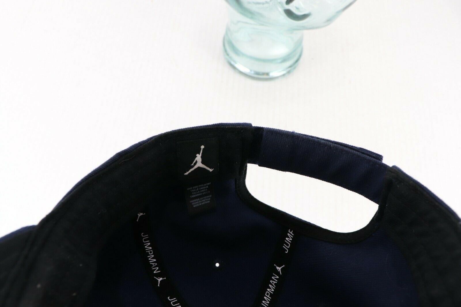 Nike Air Jordan Michigan Wolverines Football Orange Bowl Strapback Hat Cap Blue