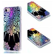 iPhone 7 Case,iPhone 8 Case,XYX [Pointer Mandala] Colorful plating Trans... - $3.95