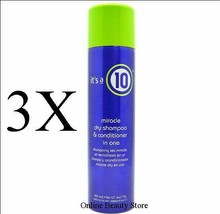 It's A 10 Miracle Dry Shampoo & Conditioner In One 6 Oz, Pack Of 3 - $41.99