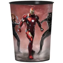 Captain America 3 Civil War Stadium Keepsake Favor 16 oz Cup 1 Per Packa... - $2.23