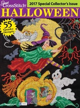 Just Cross Stitch 2017 Halloween Collectors Issue magazine   - $9.99