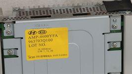 Hyundai Sonata Stereo Radio Amplifier MOBIS 963703Q100, 96370-3Q100, AMP-4600YFA image 4