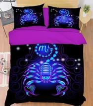 3D Scorpio 26 Bed Pillowcases Quilt Duvet Single Queen King US Summer - $102.84+