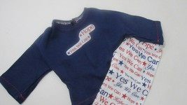 """18"""" doll clothes handmade pajama outfit American USA pride Yes We Can to... - $9.89"""